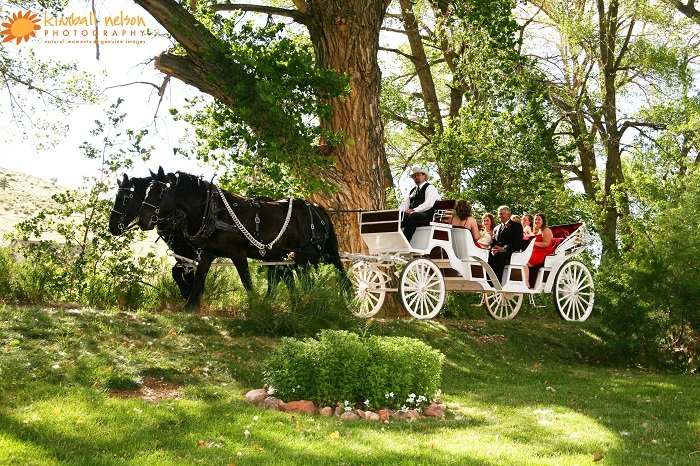 Weddings At A Private Colorado Ranch Wedding Site