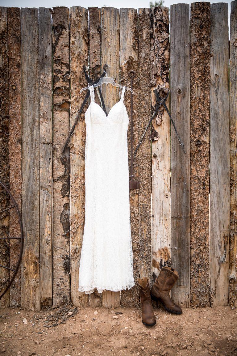 wedding dress ellis ranch