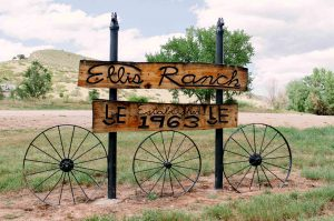 ellis ranch sign