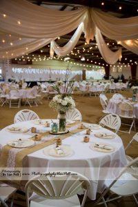 Ellis Ranch table decorations