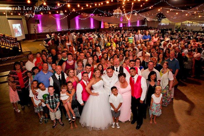 Ellis Ranch wedding party